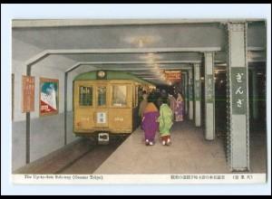 XX004602/ Tokyo Subway Station Japan AK ca.1935