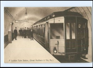 XX004634/ London Tube Station Railway Bahnhof AK ca.1925