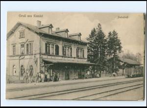 XX003821-6744/ Kandel Bahnhof AK 1926