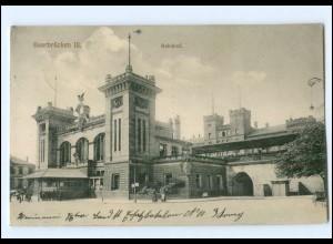 XX004215/ Saarbrücken Bahnhof 1914 AK
