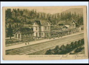 XX004205-7731/ Bahnhof Kirnach Schwarzwald AK