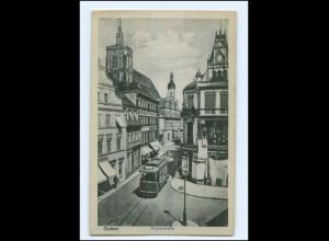 XX003653/ Guben Klosterstraße Straßenbahn AK 1917