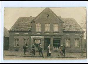 XX009796/ Colonial Fettwarenhandlung Geschäft Laden Foto AK Ort? ca.1910
