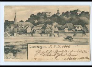 U4402-2058/ Lauenburg a.d. Elbe 1901 AK