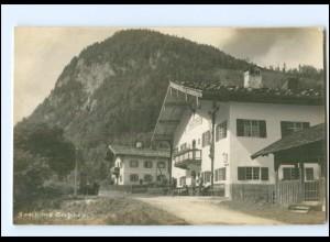 Y10927/ Gasthaus Seehaus bei Ruhpolding Foto AK ca.1912