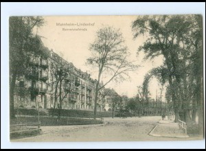 Y10867/ Mannheim-Lindenhof Rennershofstraße 1910 AK