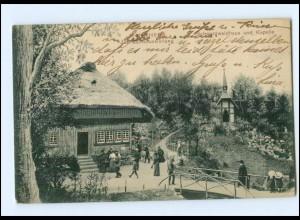 Y10868/ Mannheim Schwarzwaldhaus und Kapelle 1907 AK
