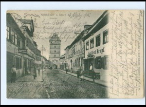 Y10855/ Neustadt a. Saale Hohntor 1905 AK
