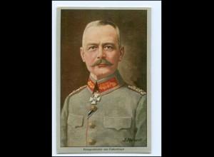 U4488/ Kriegsminister von Falkenhayn AK 1915 Ilse Kohlen Werbung