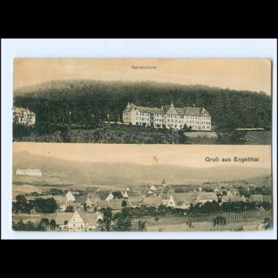 Y10857/ Gruß aus Engelthal Sanatorium 1916 AK