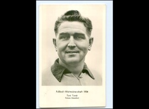 U4437/ Fußball-Weltmeisterschaft 1954 Toni Turek Foto AK