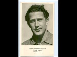 U4438/ Fußball-Weltmeisterschaft 1954 Werner Liebrich Foto AK