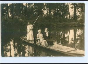 U4442-032./ Lübbenau Spreewald Foto AK 1932