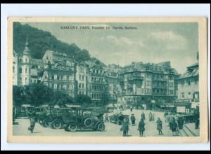 U4622/ Karlovy Vary Namesti Tschechien AK 1927