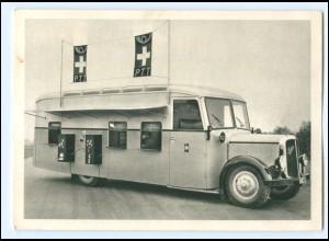 U4647/ Automobil-Postbüro auf Sauer-Chassis Schweiz AK 1937 Postauto