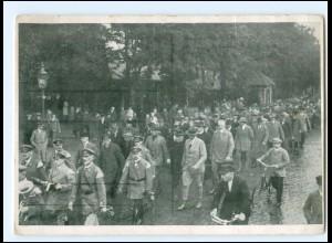 U4660/ Flensburg Einholen des Bauernfühers Hamkens aus dem Gefängnis AK 1929