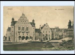 U4602/ Posen Kgl. Akademie III. Hauptversammlung des Dt. Wehrvereins 1914 AK