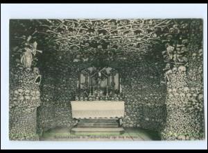 U4605/ Tscherbeney bei Bad Kudowa Schädelkapelle Totenköpfe AK ca.1910 Schlesien