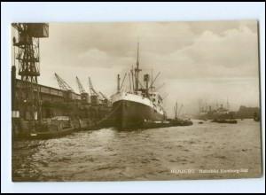 U4679/ Hamburg Hafen Dampfer Hamburg-Süd Foto AK ca.1930