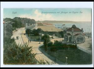 XX004225/ Berlin Tegel Tegeler See Strandpromenade 1909 AK