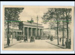 XX004224/ Berlin Brandenburger Tor Straßenbahn AK