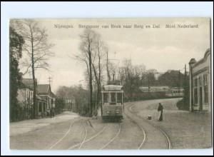 XX004491/ Nijmegen Bergspoor van Beck Straßenbahn AK 1935