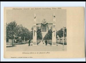XX004478-027./ Zittau Oberlausitzer Gewerbe-Ausstellung 1902 AK