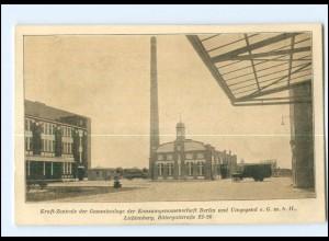 XX004323/ Berlin Lichtenberg Kraft Zentrale Konsumgenossenschaft AK ca.1920