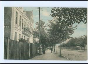 XX003917-193./ Lenzen a.d. Elbe Bahnhofstraße 1914 AK