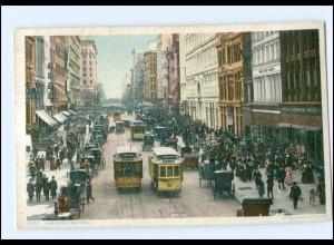 XX004489/ New York 23 Rd. Street Tram Straßenbahn USA AK a.1912
