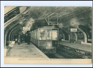 XX004440/ Madrid Metropolitano Aöfonso XIII U-Bahn AK ca.1912