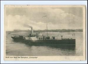 XX008854/ Elbdampfer Concordia AK 1926