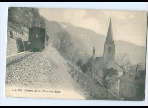 XX004469/ Chemin de Fer Montreux-Glion Bergbahn AK Schweiz ca.1910