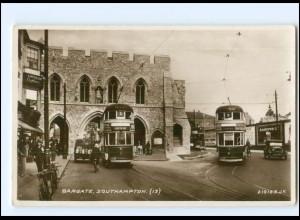 XX004264/ Großbritannien Southampton Straßenbahn Foto AK