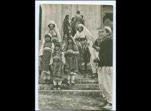 S1881/ Shkoder Scutari Costumi di Zadrima Albanien AK 1943