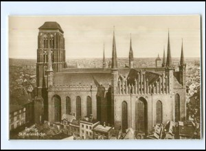 U4792/ Danzig St,. Marienkirche Trinks Foto AK ca.1930