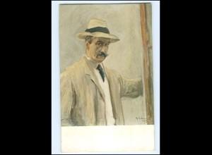Y11149/ M. Liebermann Selbstporträt AK ca.1912
