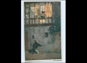Y11145/ Helmut Skarbina AK Liebe macht blind ca.1912