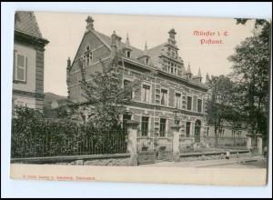 Y11220/ Elsaß Münster Postamt AK