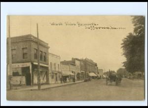 U4835/ Jefferson Iowa West Side Side Squarre AK ca.1920 USA