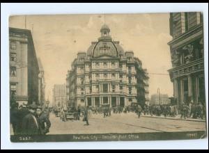 U4833/ New York City General Post Office AK 1908 USA