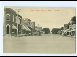 U4832/ Glidden IA. Main Street USA AK ca.1920