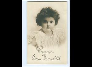 Y11131/ Prinzessin Anna Monica Pia Herzogin von Sachsen Foto AK ca.1908