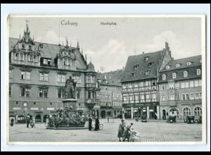 Y11177/ Coburg Marktplatz 1932 AK