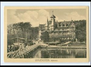 Y11290/ Gravenstein Kurhaus Nordschleswig AK ca.1912