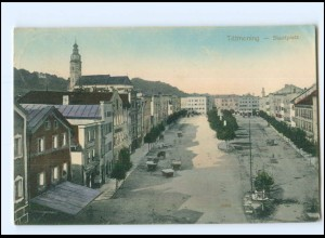 Y11303/ Tittmoning Stadtplatz AK 1913