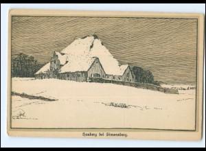 U4843-2250/ Hauberg bei Simonsberg AK ca.1920