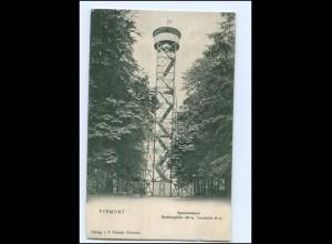 Y11163/ Pyrmont Spelunkenturm 1909 AK