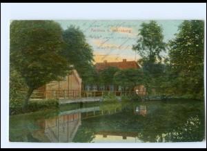 U4825-2418/ Farchau bei Ratzeburg AK 1911 + Bahnpost Hagenow- Neumünster