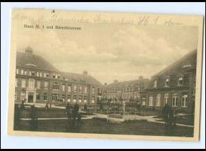 U4827/ Hamburg Krankenhaus Barmbek Bärenbrunnen AK 1918
